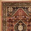 Andover Mills Leland Red and Black Area Rug