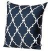 Andover Mills Reuter Trellis Polyester Throw Pillow