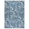 Andover Mills Pearl Ivory/Blue Indoor/Outdoor Area Rug