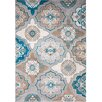 Andover Mills Zella Blue/Brown Area Rug