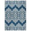 Andover Mills Pearl Blue/Ivory Indoor/Outdoor Area Rug
