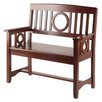 Andover Mills Cider Hill Wood Entryway Bench