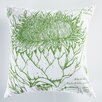Koko Company Uruli Artichoke Cotton Throw Pillow