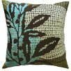 Koko Company Ecco Embroidered Cotton Throw Pillow