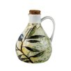 IC Innovations Toscana Harvest Ceramic Oil Bottle with Cork