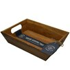 IC Innovations Occasion 35cm Vintage Oak Bread Serving Tray in Brown