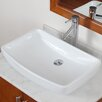 Elite Grade A Ceramic Finsbury Shaped Bowl Vessel Bathroom Sink