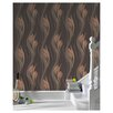 """Graham & Brown Serenity Peace 33' x 20.5"""" Floral and Botanical 3D Embossed Wallpaper"""