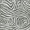"""Graham & Brown Skins 33' x 20"""" Zebra Print 3D Embossed Wallpaper"""