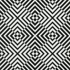 Graham & Brown The Hypnotist 33' x 20'' Geometric Flocked Wallpaper