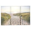"Graham & Brown Graham & Brown ""Beach Walk"" 3 Piece Photographic Print on Canvas Set"