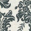"""Graham & Brown Legacy 33' x 20.5"""" Floral and Botanical 3D Embossed Wallpaper"""
