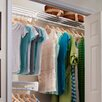 "EZ Shelf from Tube Technology 225"" Wide Closet System"