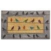 Bacova Guild Koko Framed Birds Doormat