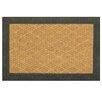Bacova Guild Natural Clean Scroll Border Doormat