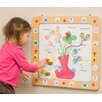 Playscapes Flowers and Bees Magnetic Wall Game