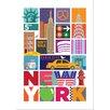Visual Philosophy New York City Travel Graphic Art