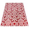 Caracella Aura Red Area Rug