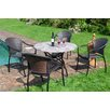 Caracella Romano/San Tropez 5-Piece Patio Table Set