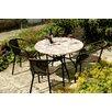 Caracella Romano / San Remo 5-Piece Patio Table Set