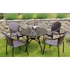 Caracella Fleuretta and San Tropez 4 Seater Dining Set
