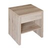 Caracella Five 1 Drawer Bedside Table