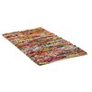 Caracella Handgefertigter Teppich Bafra in Bunt