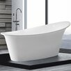 Home & Haus Haiti 175cm x 90cm Freestanding Soaking Bath Tub