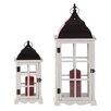 WerkStadt Paint 2 Piece Lantern Set (Set of 2)