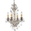 Savoy House Ma Antonieta 4 Light Crystal Chandelier