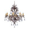 Savoy House Viena 8 Light Crystal Chandelier