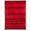 Caracella Handgetufteter Teppich Infinite in Rot
