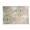 Caracella Teppich Graphic Kartusche in Grau