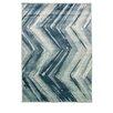 Caracella Teppich Graphic Winkel in Blau