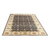Caracella Carlucci Marine Blue and Cream Area Rug