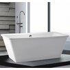Home & Haus Aruba 170cm x 79cm Freestanding Soaking Bath Tub