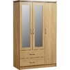 dCor design Rosset 3 Door Wardrobe