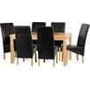 dCor design Cesane 7-Piece Dining Set