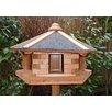 dCor design Vogelhaus Basillico mit Fußkreuzständer