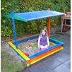 dCor design Sandkasten Ranera mit Sonnensegel