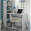 dCor design Schreibtisch Phillip mit Bücherregal