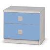 dCor design Liza 2 Drawer Bedside Table