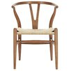 dCor design Solid Wood Dining Chair Set (Set of 2)