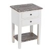 dCor design 2 Drawer Bedside Table