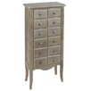 dCor design 3 door 3 drawer chest of drawers