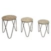 dCor design 3 Piece Nesting Table Set