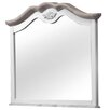 dCor design Ega Crowned Top Dressing Table Mirror