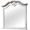 dCor design Ega Crowned Top Dressing Table Mirror