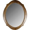 dCor design Aurin Oval Dressing Table Mirror