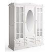 dCor design Laveno 3 Door Wardrobe with Net Curtain